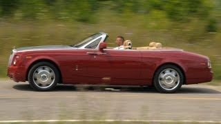 Rolls-Royce continues its tradition of making very expensive, very luxurious, and always curious cars. 2010 Rolls-Royce Phantom Drophead Coupe - Short Take ...