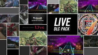 "Learn to play 5 hits by alt-rockers Live! ""I Alone,"" ""Lightning Crashes,"" All Over You,"" "" will be available today on Xbox Live, PlayStation Network, and Steam. The songs may be posted later for players in territories served by the EU PlayStation Store due to differences in publishing times. See the tunings and arrangements below.Learn to play 5 huge hits by alt-rockers Live! ""I Alone,"" ""Lightning Crashes,"" ""All Over You,"" "" will be available today on Xbox Live, PlayStation Network, and Steam. The songs may be posted later for players in territories served by the EU PlayStation Store due to differences in publishing times. See the tunings and arrangements below.""I Alone"" - Eb Standard - Lead/Rhythm/Bass""Lighting Crashes"" - Eb Standard - Lead/Rhythm/Bass""All Over You"" - Eb Standard - Lead/Rhythm/Bass""Selling the Drama"" - Eb Standard - Lead/Rhythm/Bass""The Dolphin's Cry"" - Eb Standard - Lead/Rhythm/BassFor more information, visit http://rocksmith.com"