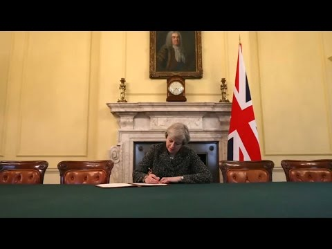 Tim Barrow, the British ambassador to the European Union, is expected to hand over the formal document to trigger Brexit.