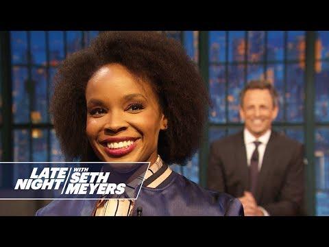 Amber Ruffin Addresses Megyn Kelly Asking if Blackface Is Racist
