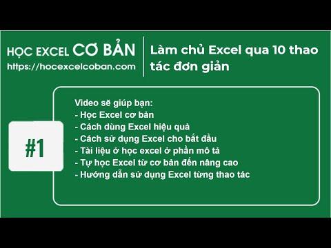 10 tủ thuật exel cơ bản