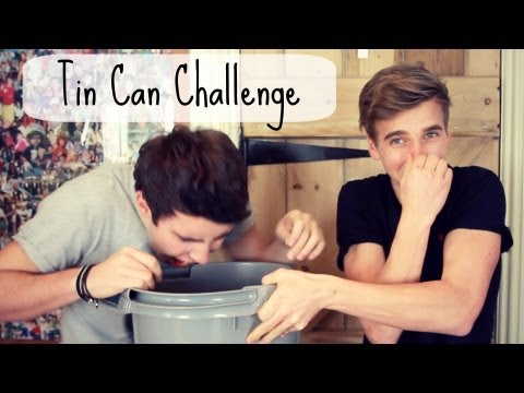CHALLENGE - Attempting The Tin Can Challenge... Joe's Video: http://bit.ly/12q76O7 Subscribe To Joe: http://bit.ly/Zi82aA Please Thumbs Up and Add To Favourites ! If you...