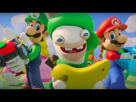 Mario + Rabbids Kingdom Battle Official Behind the Story Trailer