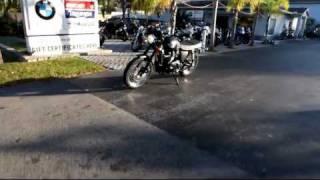 10. 2012 Triumph Scrambler Black