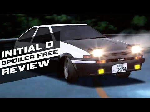 Initial D (Complete Series) - Racing Seinen - Spoiler Free Anime Review #201