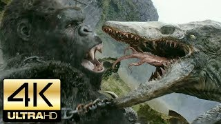 Nonton Kong  Skull Island 2017   All Kong And Creature Scenes   4k Ultra Hd Film Subtitle Indonesia Streaming Movie Download