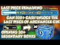 Can 500 Cash Get Last Piece Of Archangle - Opening Legendary Boxes - 8 Ball Pool - GamingWithK
