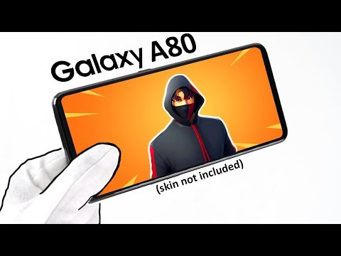 Samsung Galaxy A80 Phone Unboxing - Fortnite, Free Fire, PUBG Mobile
