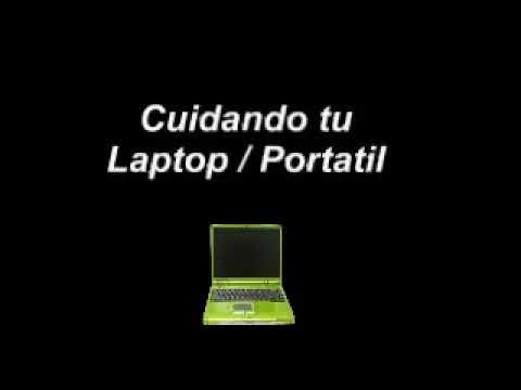 Cómo limpiar la pantalla de una laptop con implementos caseros