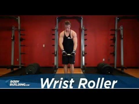 Wrist Roller - Forearm Exercise - Bodybuilding.com