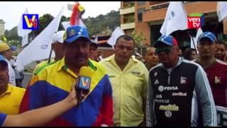 Trujillanos acudieron al llamado de la MUD para marchar este 23E en Valera