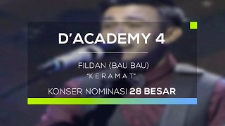 Video Fildan, Bau Bau - Keramat (D'Academy 4 - Konser Nominasi 28 Besar Group 1) MP3, 3GP, MP4, WEBM, AVI, FLV Juli 2018