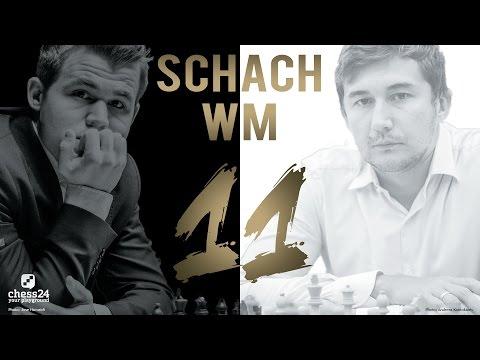 Schach WM 2016: Carlsen - Karjakin Partie 11 Schach W ...