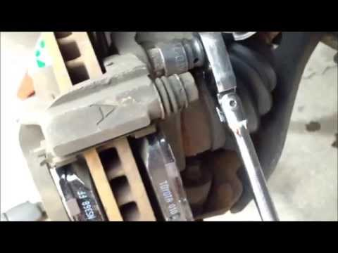 diy how to replace install brake pads rotors 2004 toyota camry. Black Bedroom Furniture Sets. Home Design Ideas