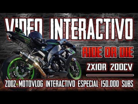 MOTOVLOG INTERACTIVO !!! RIDE OR DIE !!! TU DECIDES !!! ESPECIAL 150.000 SUBS