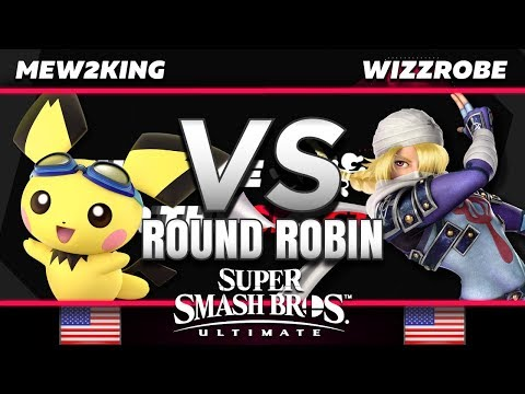 Mew2King (Pichu/Yoshi/Chrom) Vs. Wizzrobe (Sheik) - RR - Race For The Spectrum
