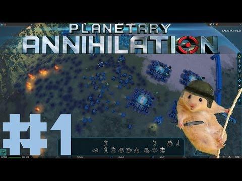Planetary Annihilation #1 - Самая глобальная стратегия