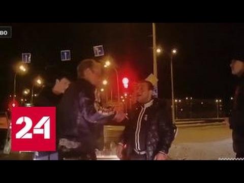 В Кемерове два водителя устроили драку на дороге