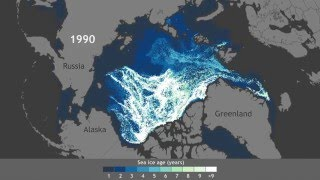 Dwindling of Arctic's oldest ice since 1990 Video Thumbnail