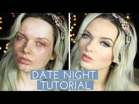 acne coverage and make up tutorial!