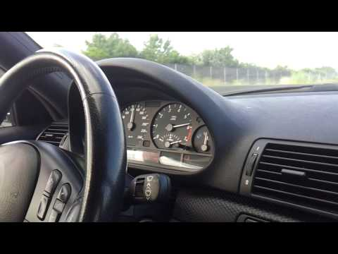 BMW E46 325Ci Acceleration Sound Downshift