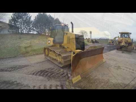 CATERPILLAR TRACTORES DE CADENAS D6K2LGP equipment video -lbqAROmb9I