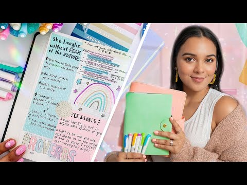 How I Bible Study & Grow Closer to God! Christian Morning Routine✨