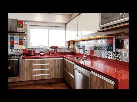 8 lựa chọn gạch ốp tường cho phòng bếp nổi bật