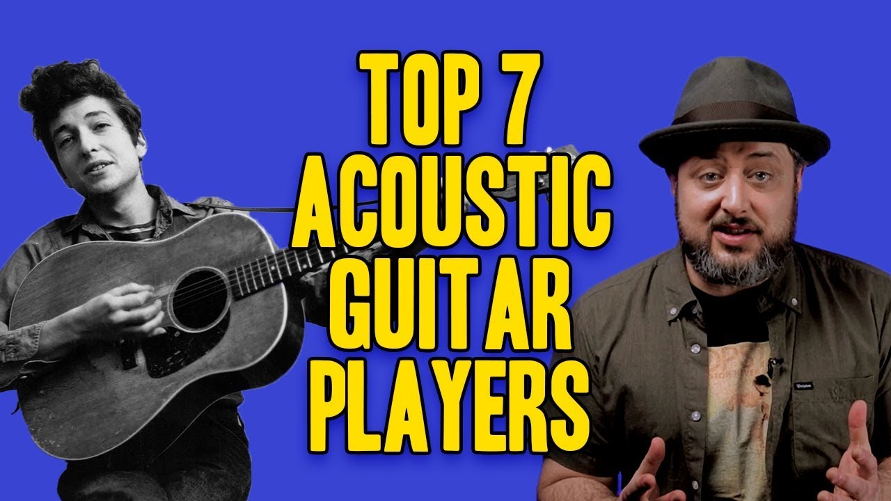Top 7 Acoustic Guitar Players | Marty Schwartz