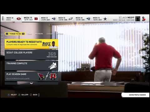 CKFL  - Season 6 - Week 11 - Bengals vs Cardinals