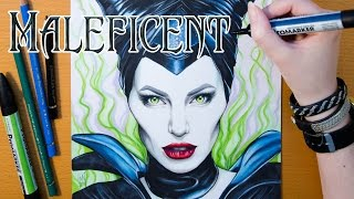 Drawing Disney's Maleficent