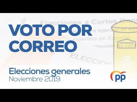 Voto por correo - #EleccionesGenerales #10N