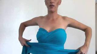 Video Sweetheart Strapless - Lucy and Loo Convertible Dress MP3, 3GP, MP4, WEBM, AVI, FLV September 2018