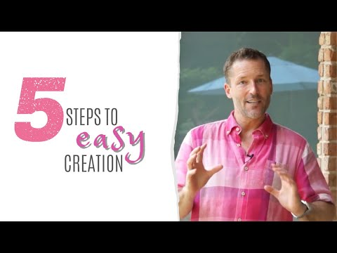 Five Steps To Easy Creation, Tour Of Consciousness With Dr Dain Heer