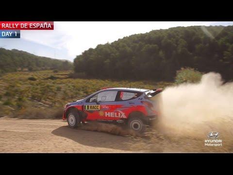 Vídeo resumen equipo Hyundai 1ª etapa  WRC Rally RACC Cataluña España 2015