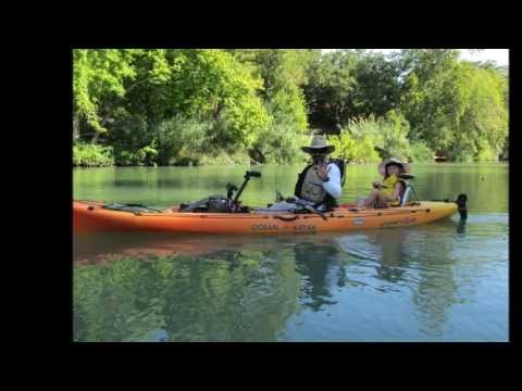 Guadalupe River trail - kayak fishing, kayak photos, kayak videos