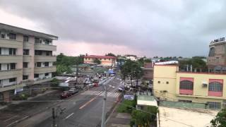 Daet Philippines  City pictures : Daet Philippines hotel balcony December 2015