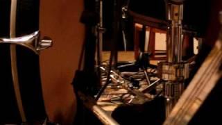 Video nahrávání Kultu hyeny - bicí