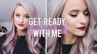 GRWM For London Fashion Week Ad | Inthefrow