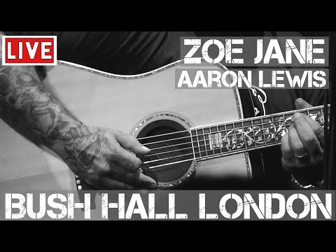 Aaron Lewis – Zoe Jane (Live & Acoustic) @ Bush Hall, London 2011