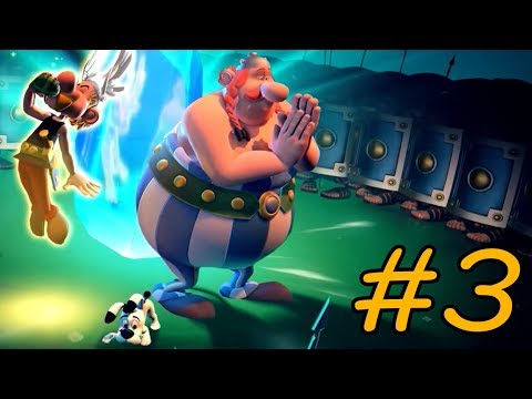 Asterix & Obelix XXL 3 - The Crystal Menhir - Walkthrough - Part 3 - Petibonum HD