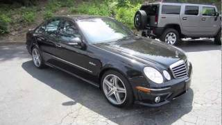 2008 Mercedes-Benz E63 AMG Start Up, Exhaust, And In Depth Tour