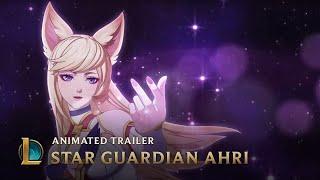 A New Horizon | Star Guardian Ahri Animated Trailer - League of Legends