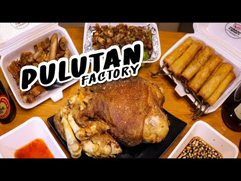 FILIPINO DRINKING SNACKS with Filipino Beer and Alcohol | Pulutan Factory