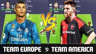 Video Team Europe VS Team America - FIFA 18 Experiment MP3, 3GP, MP4, WEBM, AVI, FLV Agustus 2018