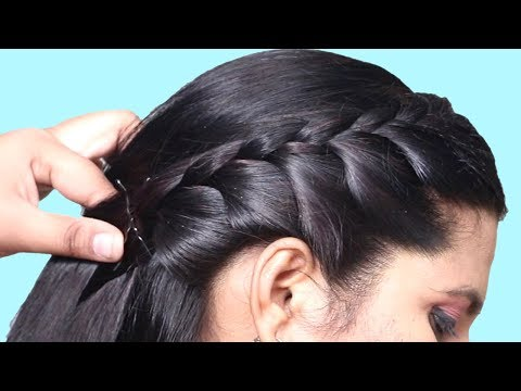 Best Party hairstyle 2019 for girls//Hair Style Girl//hairstyles//Easy Hairstyles for long hair