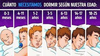Científicos explican cuánto necesitas dormir dependiendo de tu edad