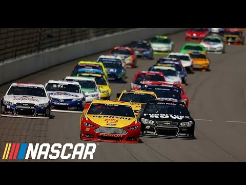 NASCAR Extended Highlights | Pure Michigan 400 (2013) - Joey Logano