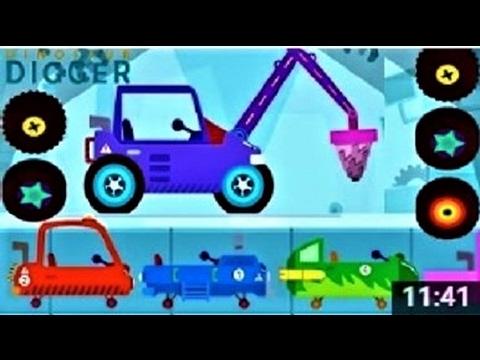 МАШИНКИ #Мультики для Детей. Веселые #Динозаврики Собираем Машинки Видео. #Мультфильмы 2017 Новинки (видео)