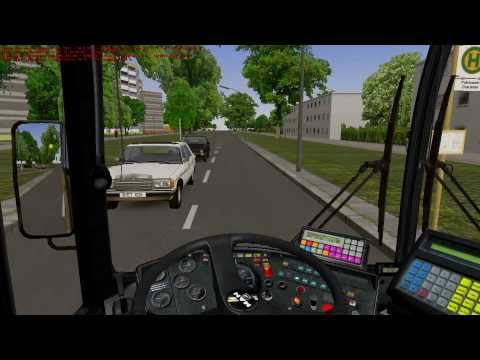 OMSI The Bus Simulator - Gameplay HD Line 92 Freudstrasse